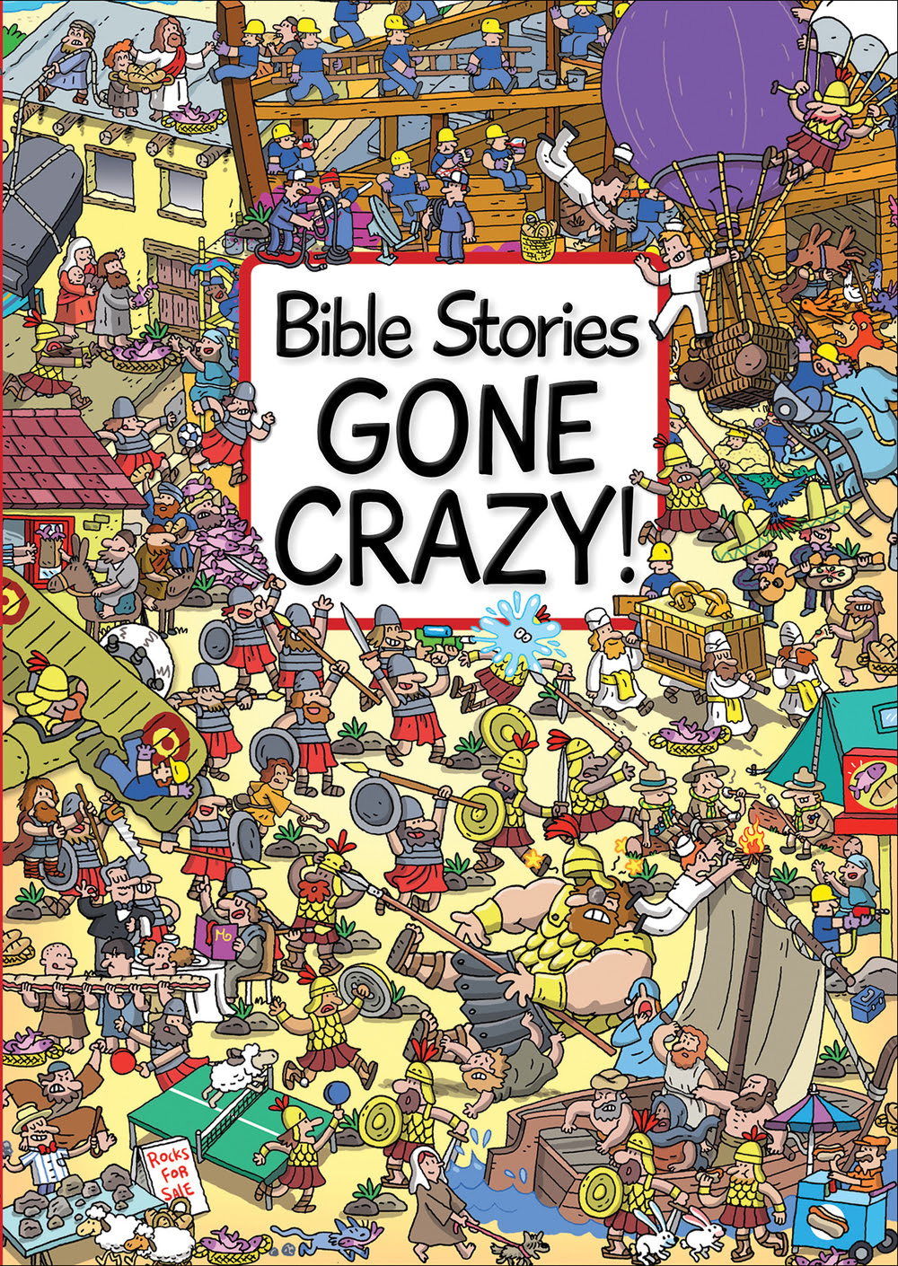 review of bible stories gone crazy by josh edwards and emiliano